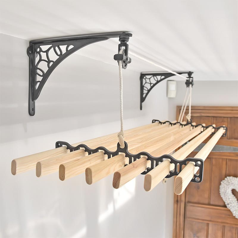 Clothes Airer Wall Support Bracket In