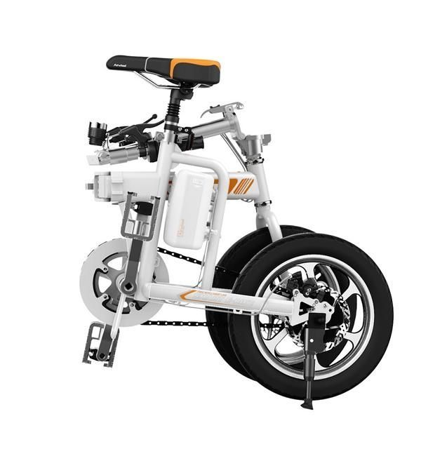 airwheel r5 mini e bike citybike elektrofahrrad faltbar. Black Bedroom Furniture Sets. Home Design Ideas