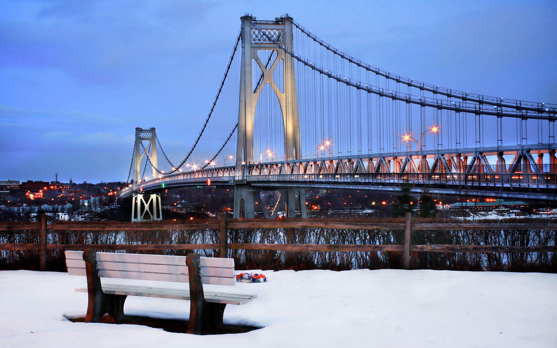New York Nature Google Search Bridge City New York Snow New York Winter