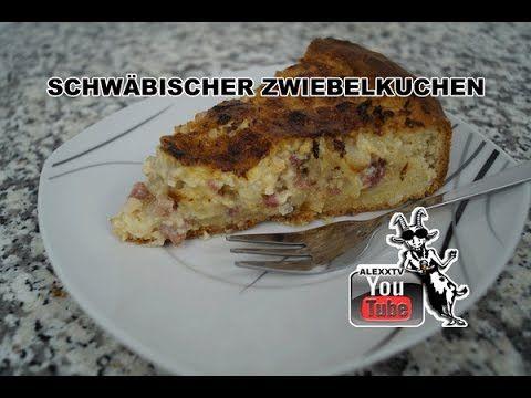 Schwäbischer Zwiebelkuchen - Rezept