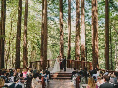 Amphitheatre Of The Redwoods At Pema Osel Ling South Bay Wedding Location 96076 Santa Cruz Venue In Mountains