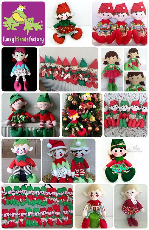 Christmas Elf Sewing Pattern Photo Tutorial Httpwww