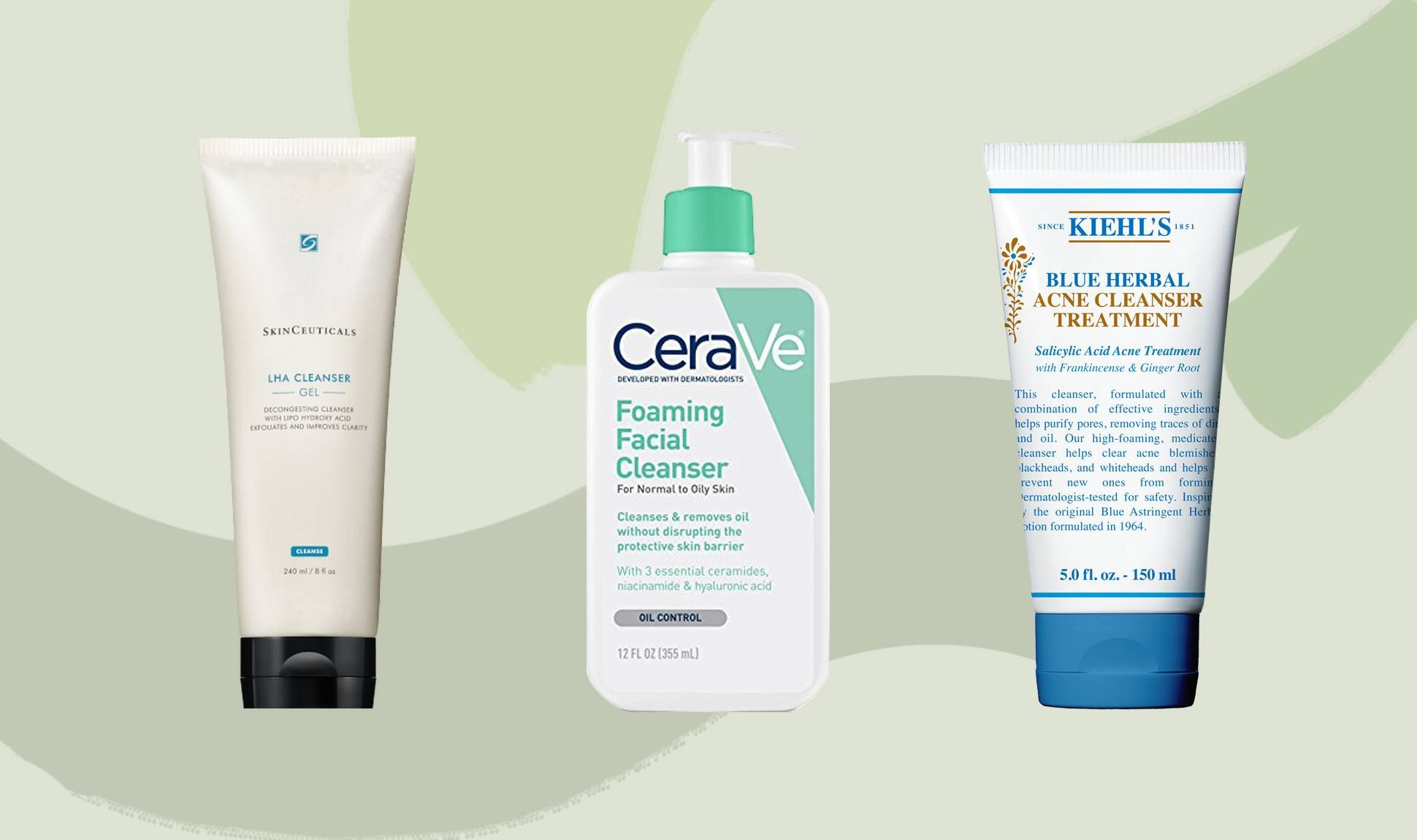 The Best Cleansers For Oily Acne Prone Skin Oily Skin Acne