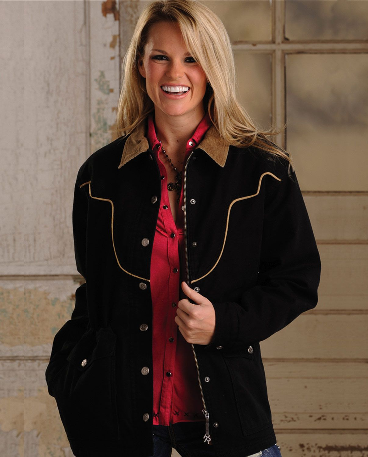 Powder River Outfitters™ Ladies' Chadron Canvas Coat::Outerwear::Ladies::Fort Western Online
