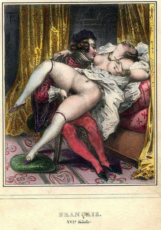 старинные эротические открытки совершенно случайно