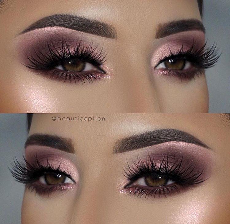 Makeup Eyeshadow Smokey Pink Purple Brown Eyes Smokey Eye Makeup Eyeshadow Makeup Pinterest Makeup