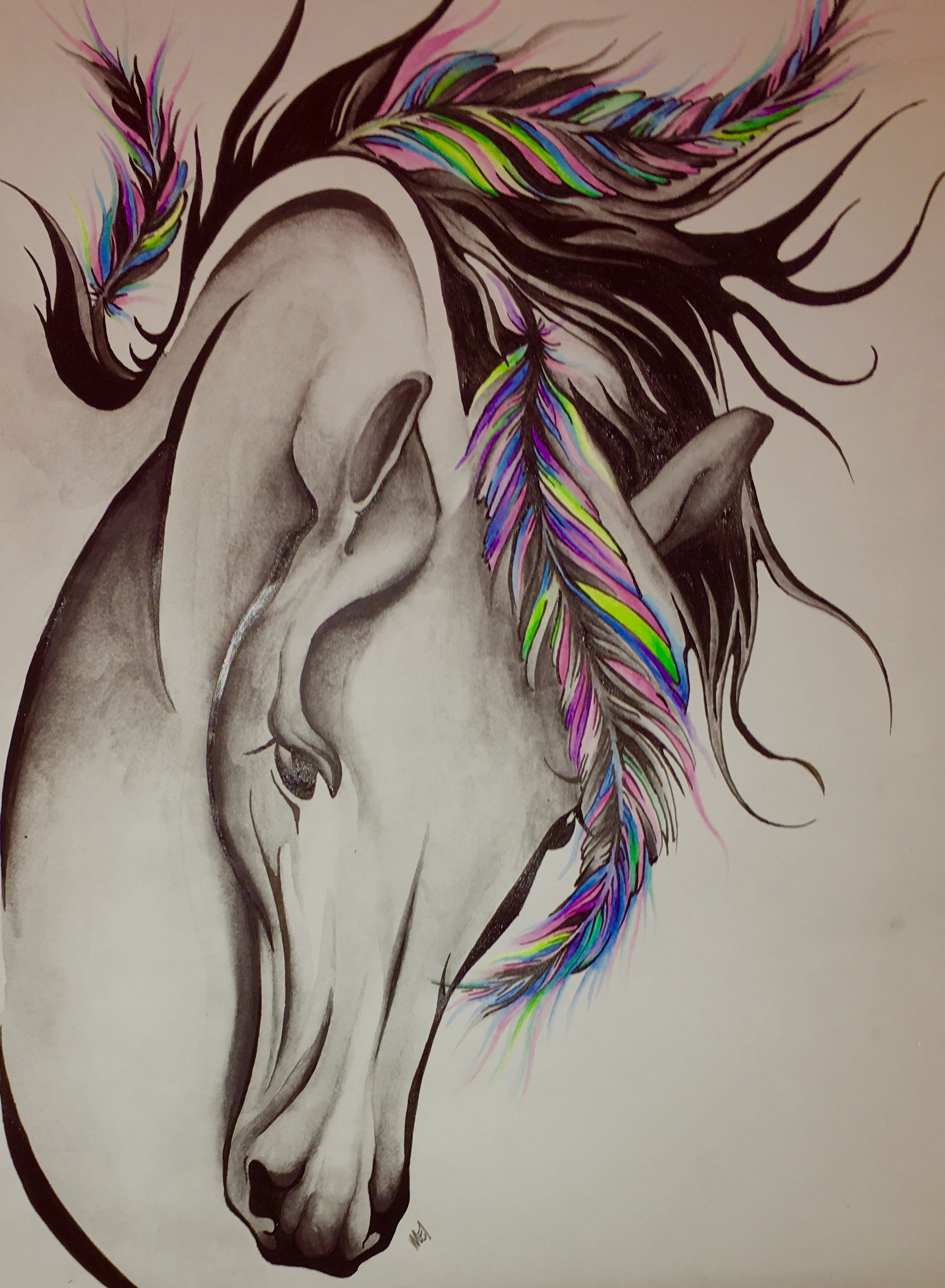 Horse Tattoo Horse Pic Paard
