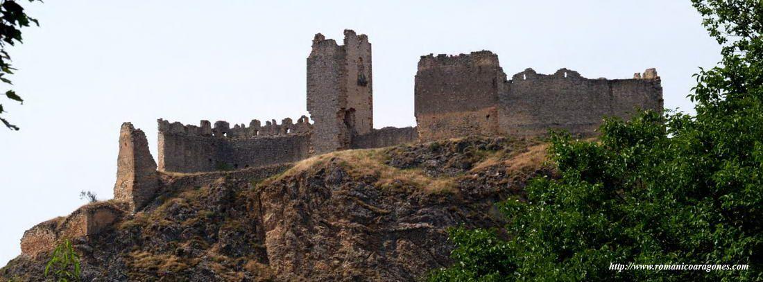 castillo de bijuesca - zaragoza - españa