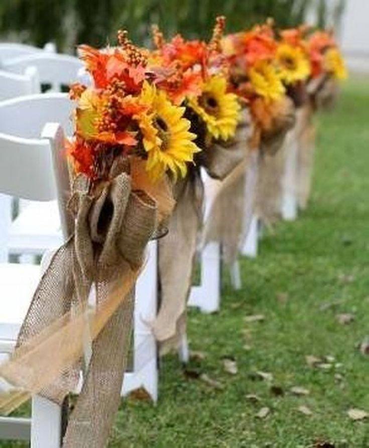 Nice 48 Unique Fall Wedding Décor Ideas On A Budget. More