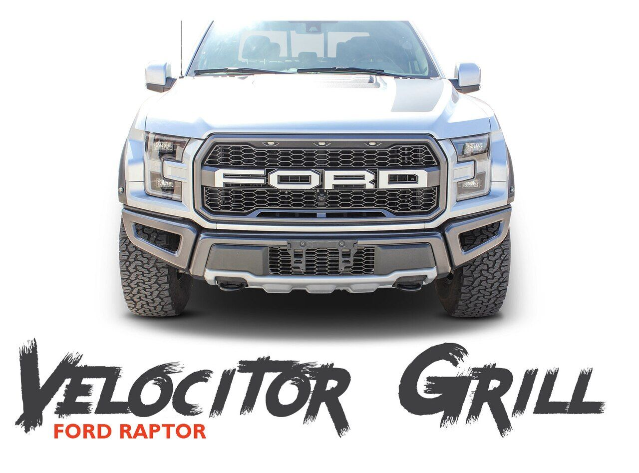 Ford Raptor Grill Decals Velocitor Grill Letter Text Decals Vinyl Graphics Kit 2018 2019 2020 Vinyl For Cars Ford Raptor Grill Car Vinyl Graphics
