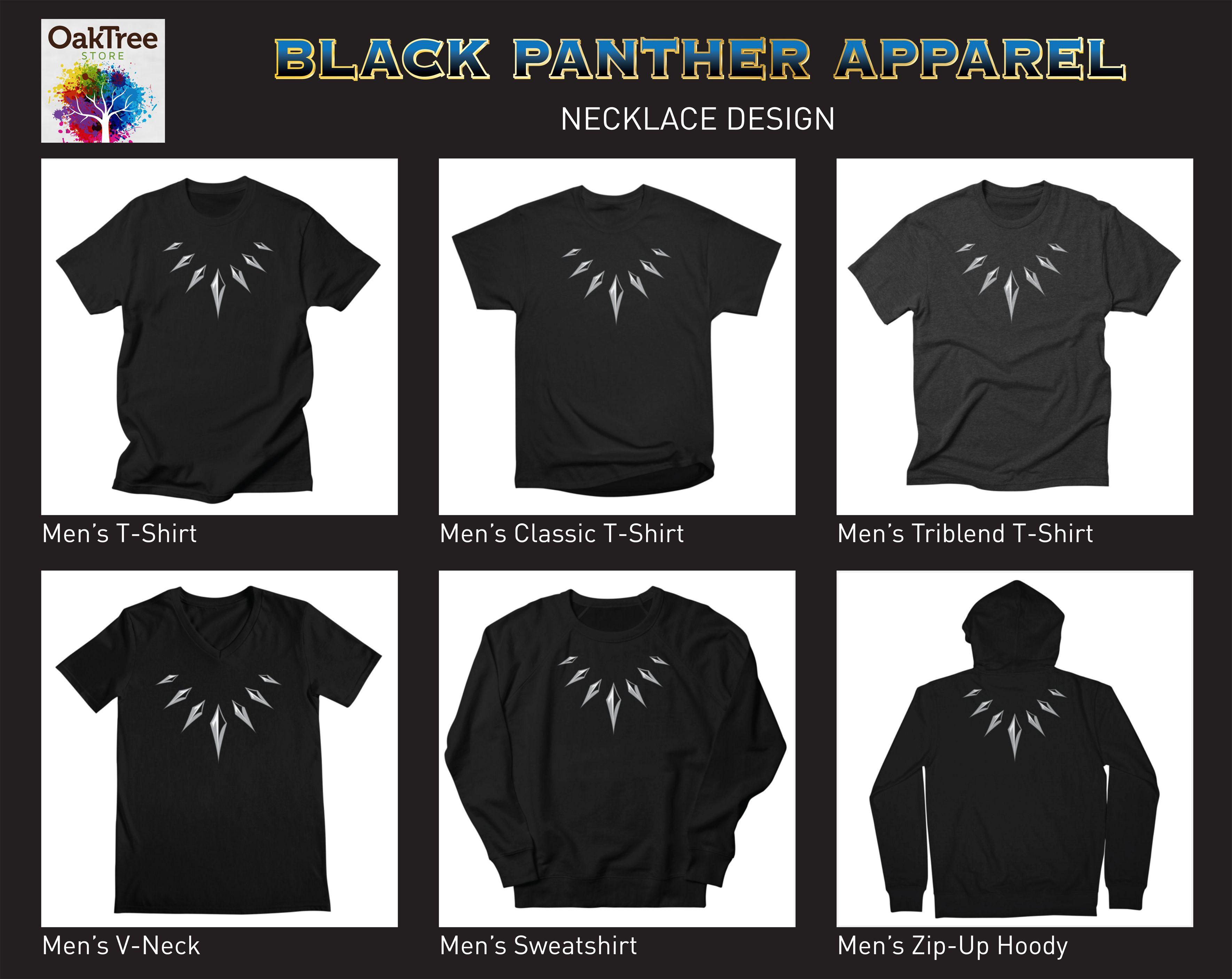 b6b28db7 Get your Black Panther gear! Necklace design Men's, Women's, Kids ...