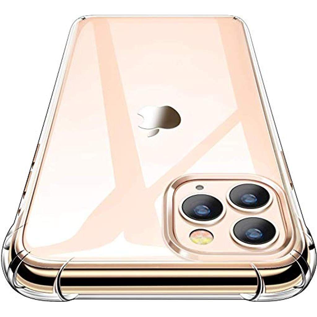 Garegce Coque Iphone 11 Pro 2019 2 Pack Verre Trempe Protecteur Ecran Transparent Silicone Antichoc Bumper Souple Tpu Pro En 2020 Iphone Produits Apple Coque Iphone