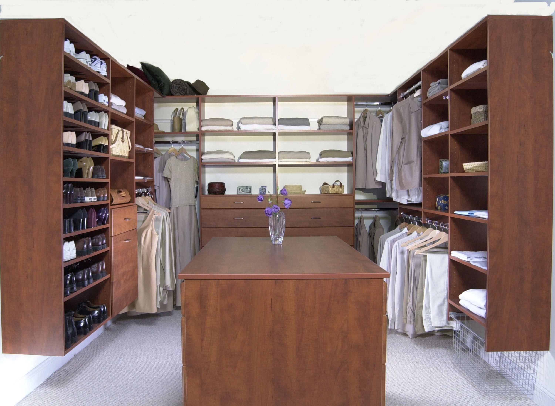 Closet Walk In Decor : California Closets Garage Cost