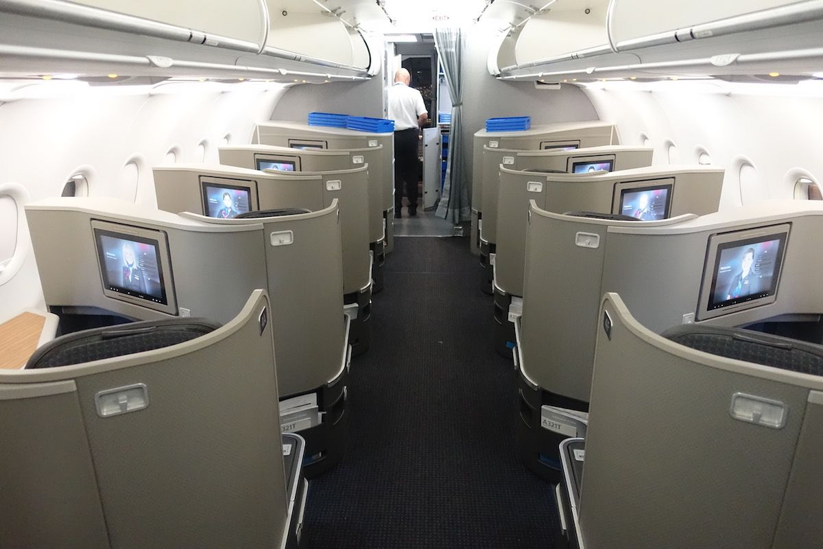 Review American First Class A321 New York To Los Angeles