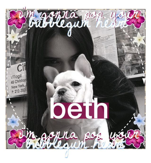 """""""&&; icon for my account   beth"""" by those-wonderful-iconers ❤ liked on Polyvore featuring art and bethsicons"""