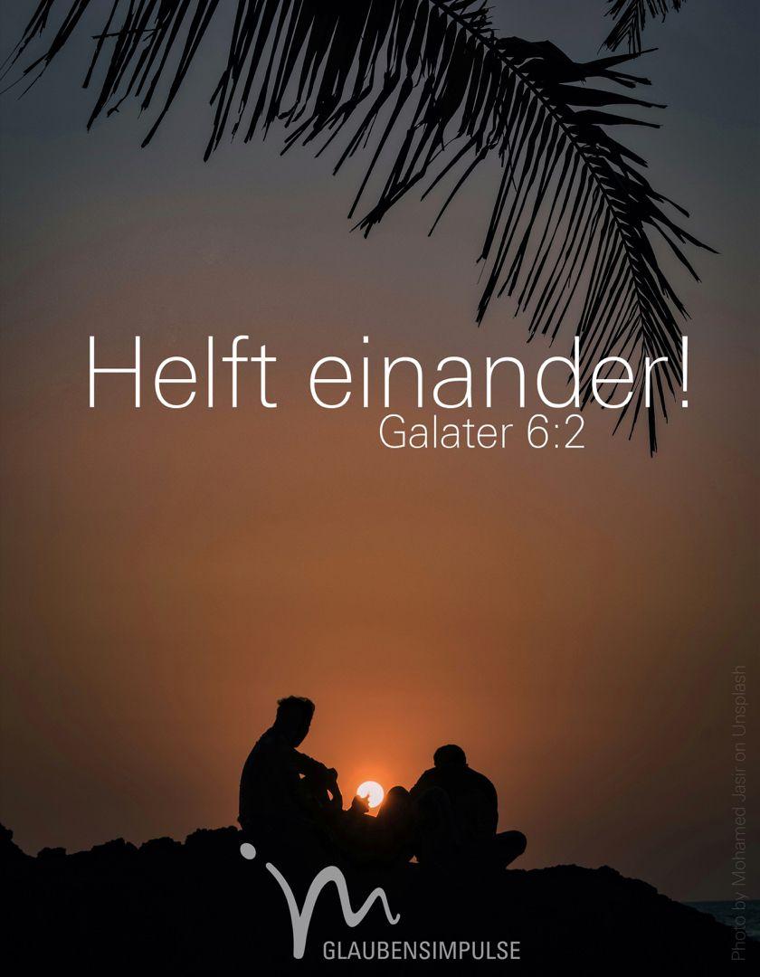Galater 6,2