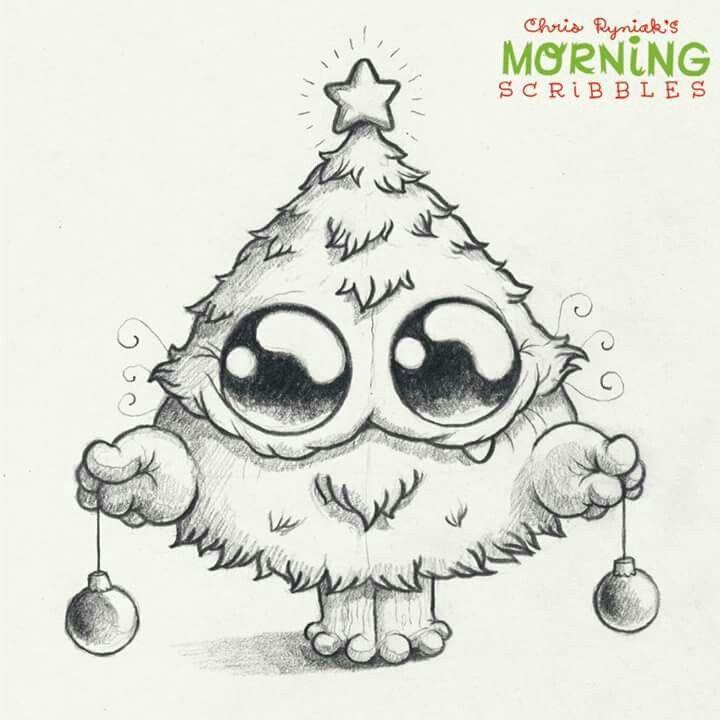 Dibujos De Navidad Creativos.Pin De Talent En Christmas Pinterest Dibujo Dibujos