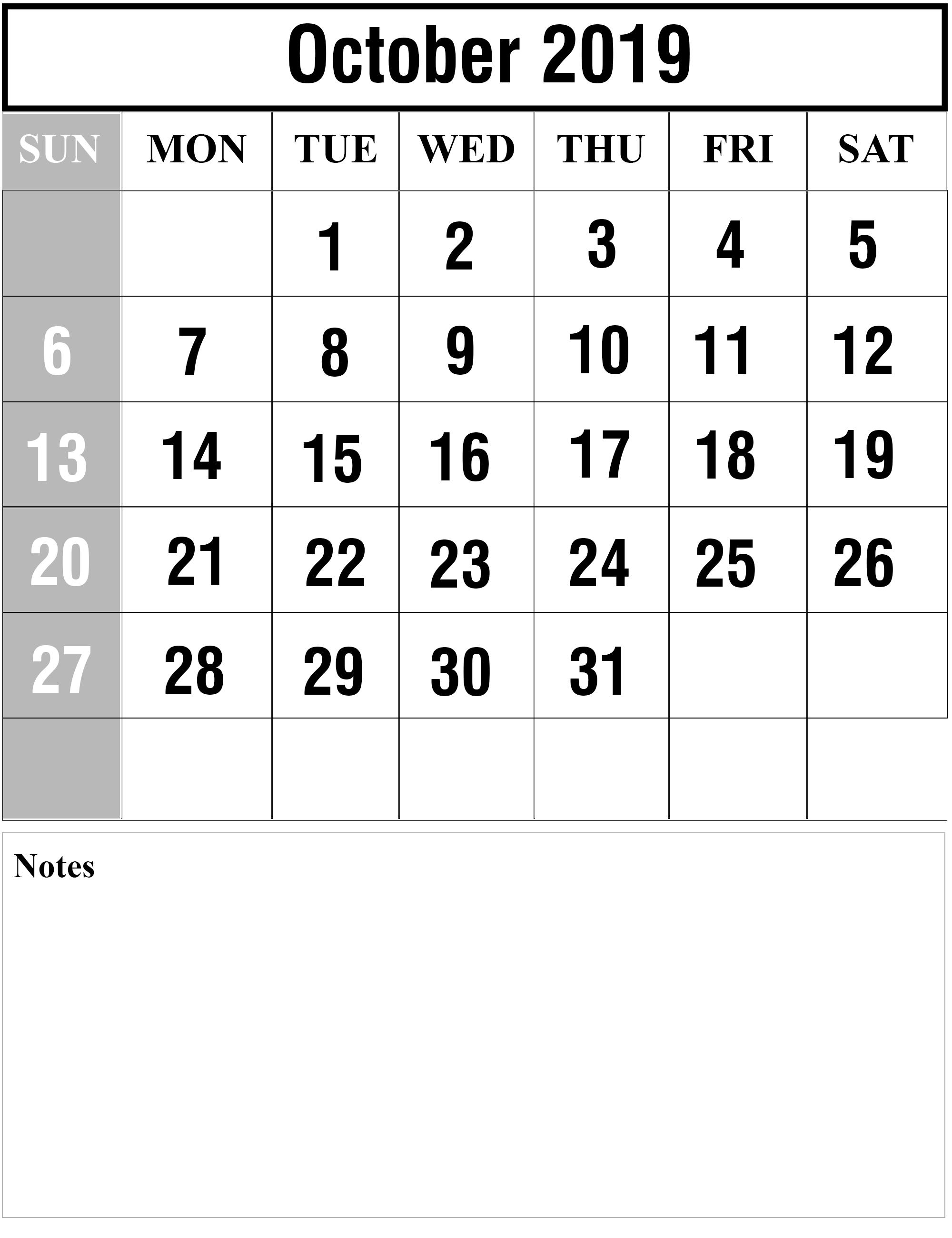 October 2019 Calendar Portrait October Oct2019 October2019 Octobercalendar2019 2019calendars Calendar 2019 Printable July Calendar Calendar Template