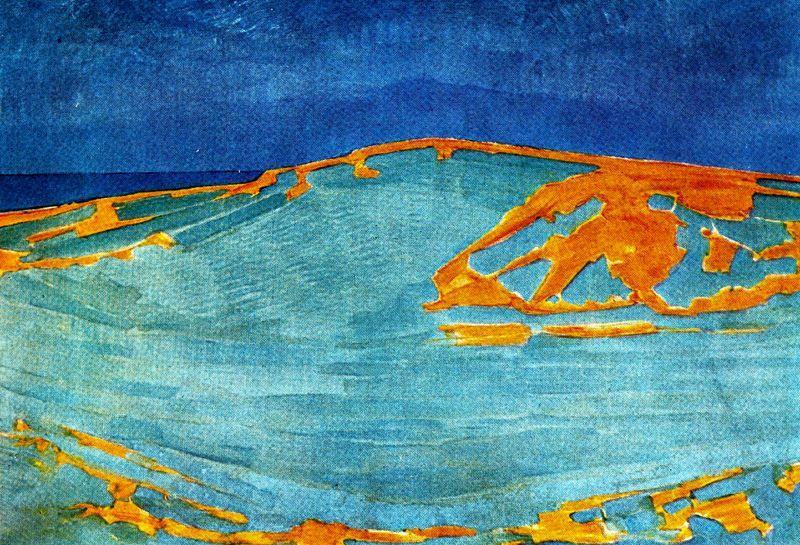 Piet Mondrian - Fauvism - Landscape - Dune in Zeeland