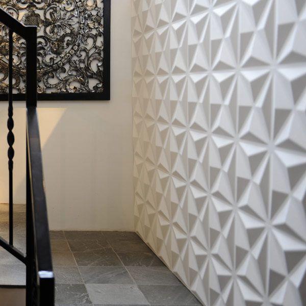 Biodegradable 3D Wall Panels | wall art & visuals | Pinterest | Idée ...