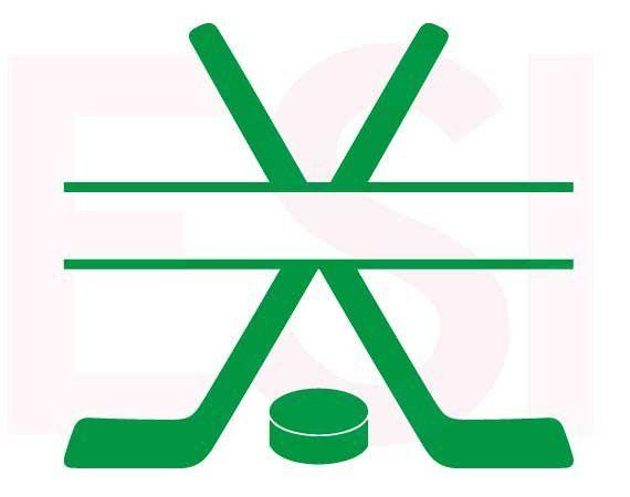 hockey sticks split design svg dxf eps cutting file esi designs rh pinterest co uk field hockey sticks clipart hockey sticks clipart free