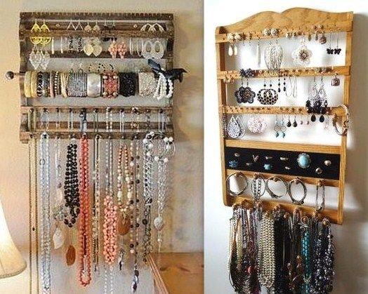 trucs et astuces pour ranger ses bijoux bijoux pinterest jewelry frames diy and jewelry. Black Bedroom Furniture Sets. Home Design Ideas