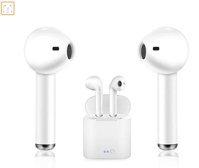 Bluetooth Earbuds Manords Headphones Stereo In Ear Earphones Noise Cancelling For Apple Airpods Ipho Bluetooth Earbuds Earbuds Headphones