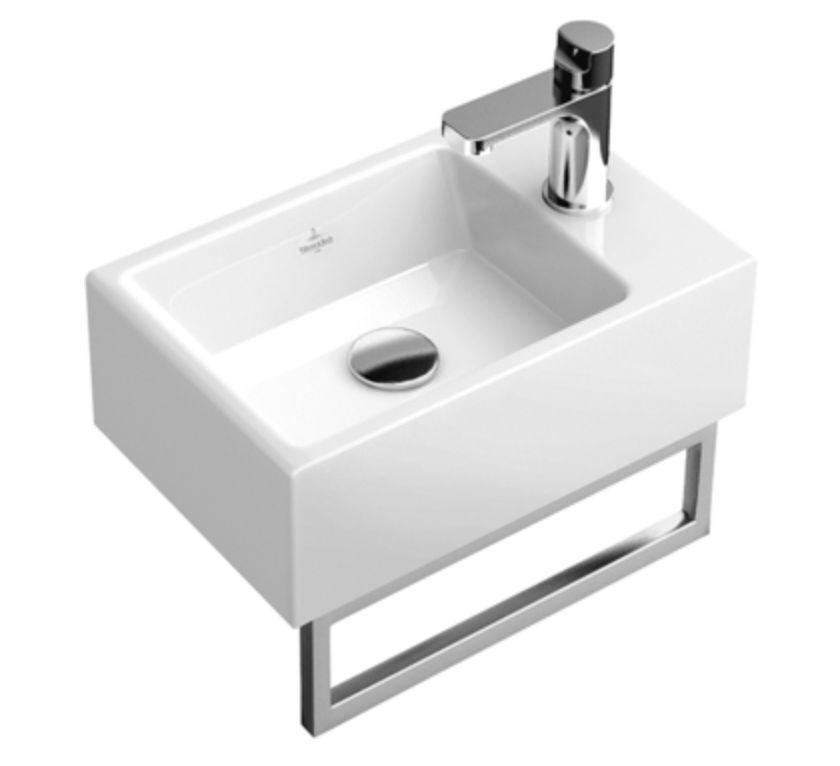 Villeroy En Boch Toiletrolhouder.Villeroy Boch Memento Hand Wash Basin 400 X 260mm With
