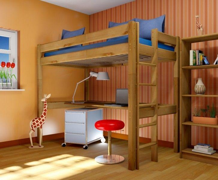 Etagenbett Kiefer Geölt : Etagenbett mit schlafplätzen kiefer massiv lackiert