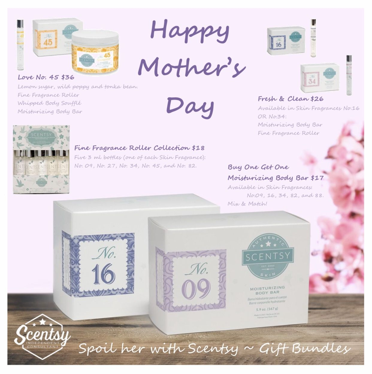 Mother's Day Sale Skin Fragrance Bundles! Perfect gifts for moms who love to smell beautiful!