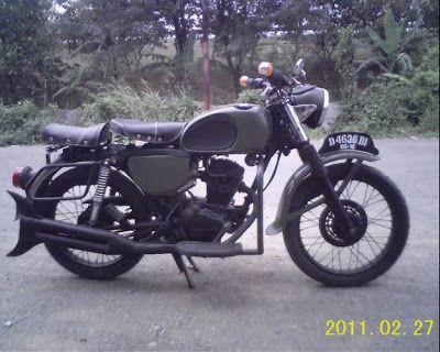 Modifikasi Honda Gl 100 Neo Klasik Gang Tutorial Motorcycle