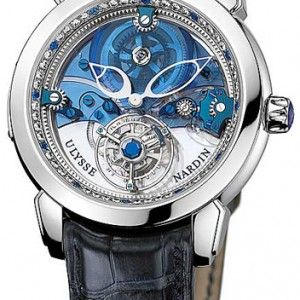 Ulysse Nardin Royal Blue Tourbillon Limited Edition Platinum