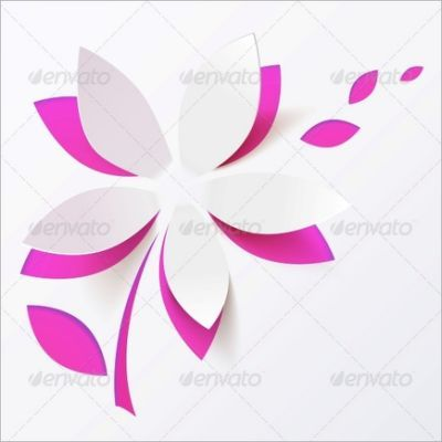 Flower Petal Template   Download