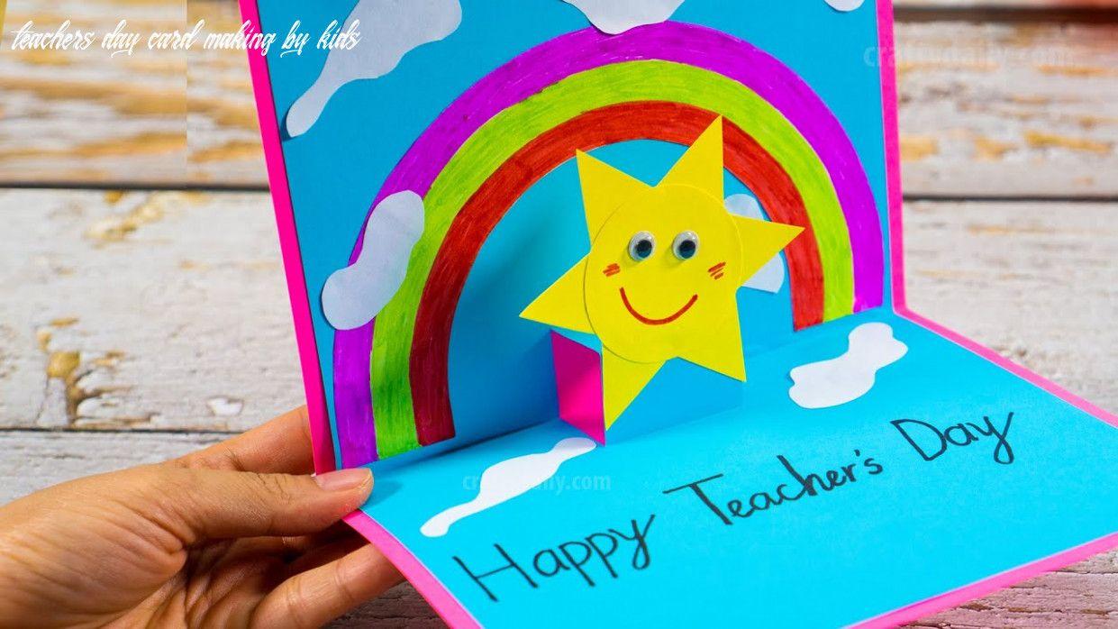 6 Teachers Day Card Making By Kids In 2020 Teachers Day Card Teacher Cards Teacher Craft