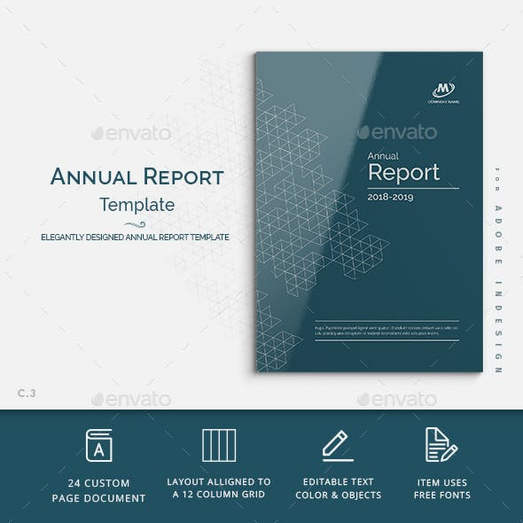Annual Report Template Word (3) | PROFESSIONAL TEMPLATES #annualreports