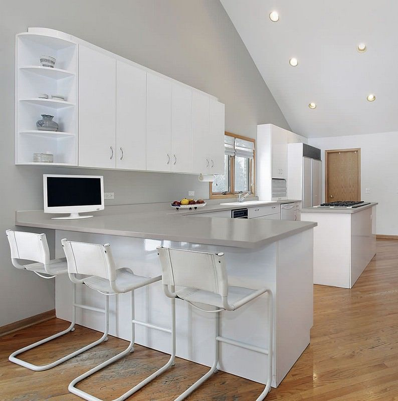 L Shaped Kitchen Ideas For Multipurpose Spaces: HI-MACS L Solid Surface L LG Hausys