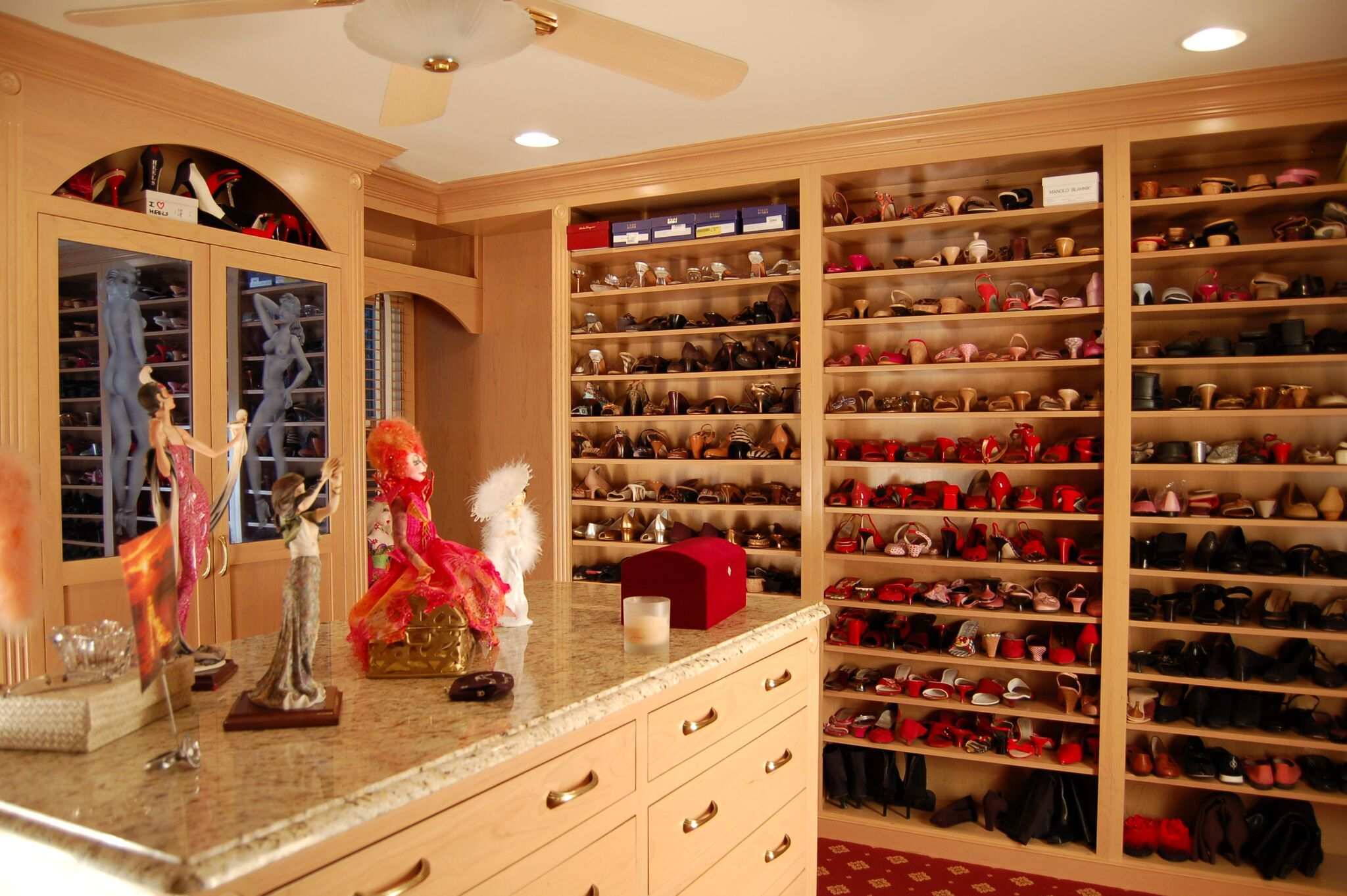Custom Shoe Storage By Ridgewood Closets In Saddle Brook, NJ  Www.ridgewoodclosets.com