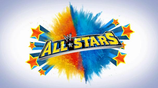 Wwe All Stars Logo Png 607 340 Star Logo All Star Stars