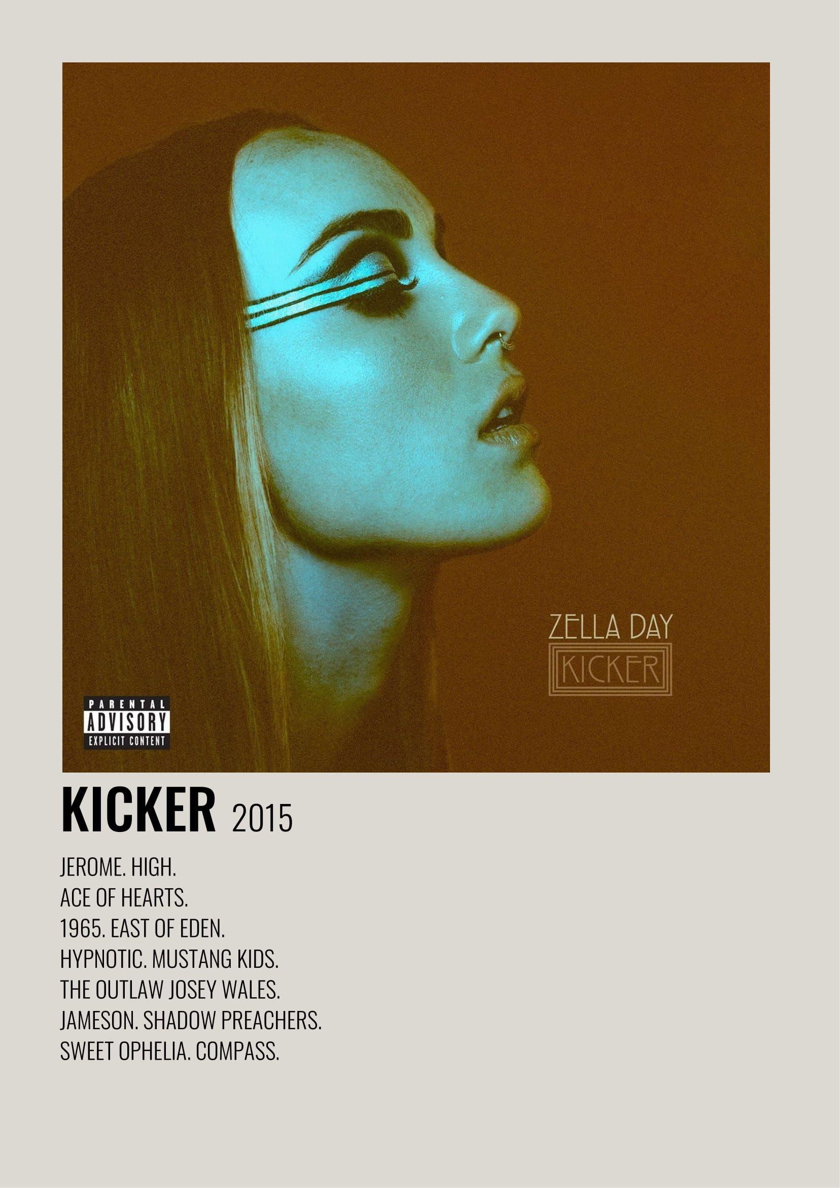 Kicker Zella Day Music Poster