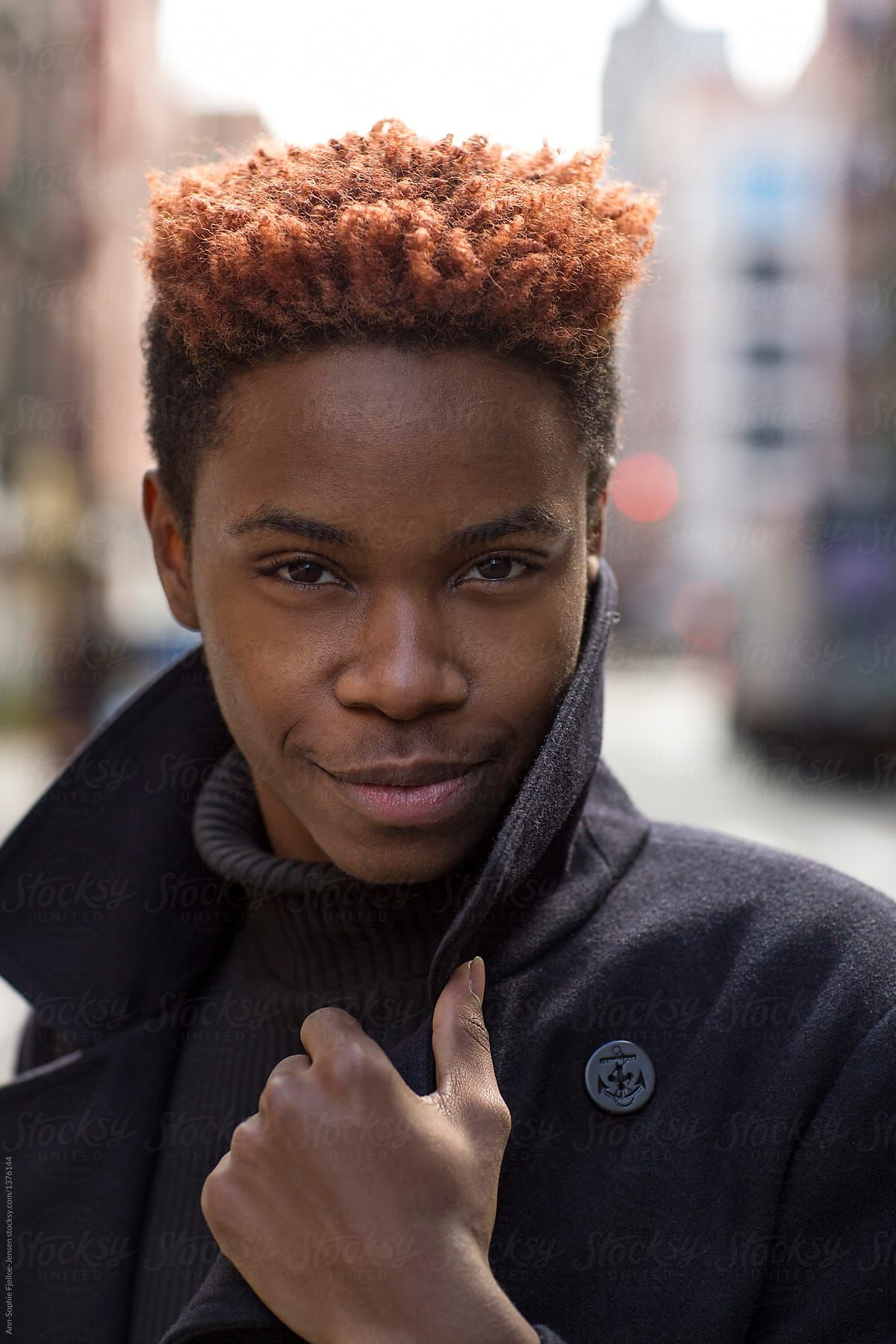 Black Man With Ginger Hair - 12 cute hairstyle ideas for