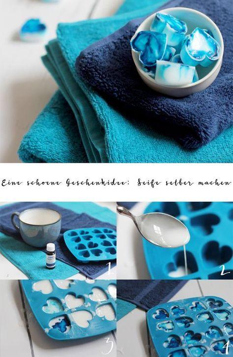 eine sch ne geschenkidee seife selber machen diy pinterest geschenke seife selber. Black Bedroom Furniture Sets. Home Design Ideas