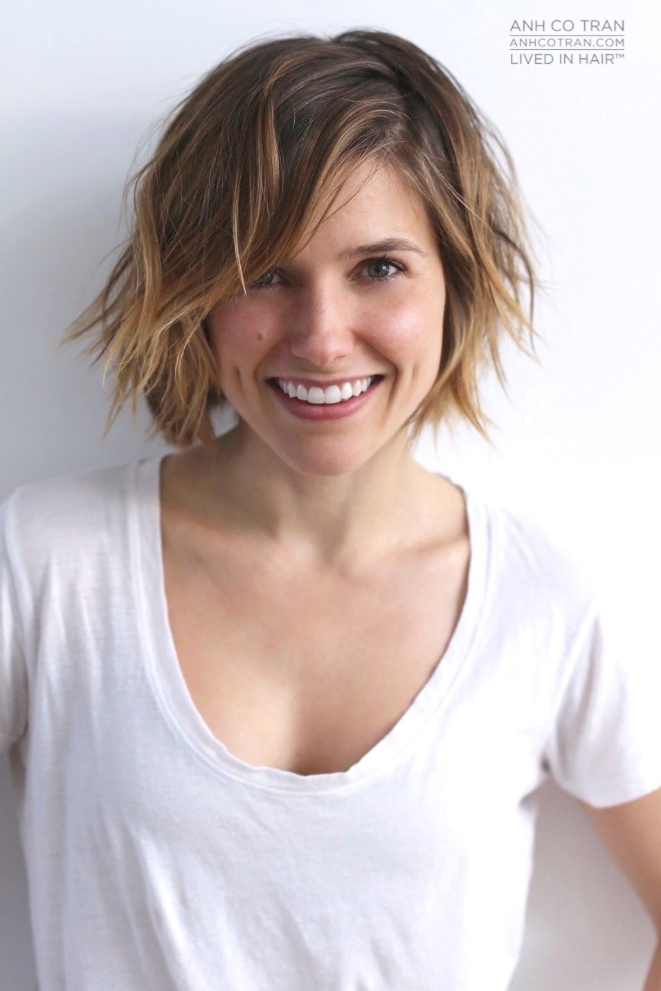 business woman hairstyles : ... on Pinterest Hair Colors, Sophia Bush and Sophia Bush Hairstyles
