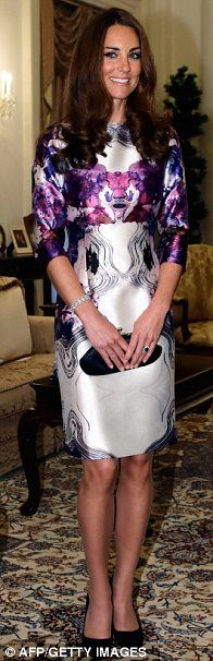 Duchess of Cambridge, Singapore, 2012