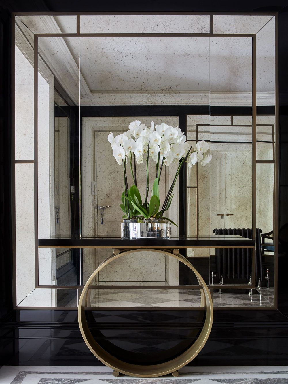 astonishing foyer mirrors for a welcoming home foyer mirror