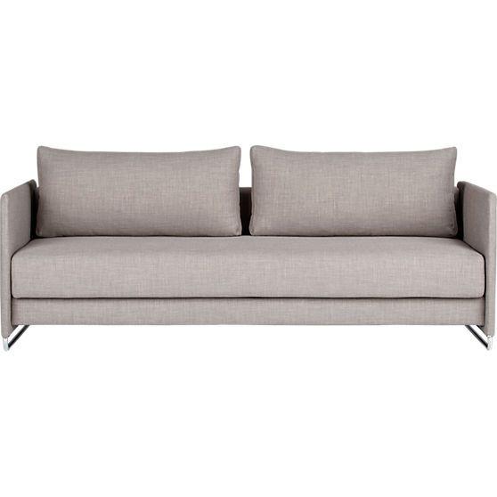 Tandom Sleeper Sofa In Sofas Cb2 Modern Sleeper Sofa Sofa
