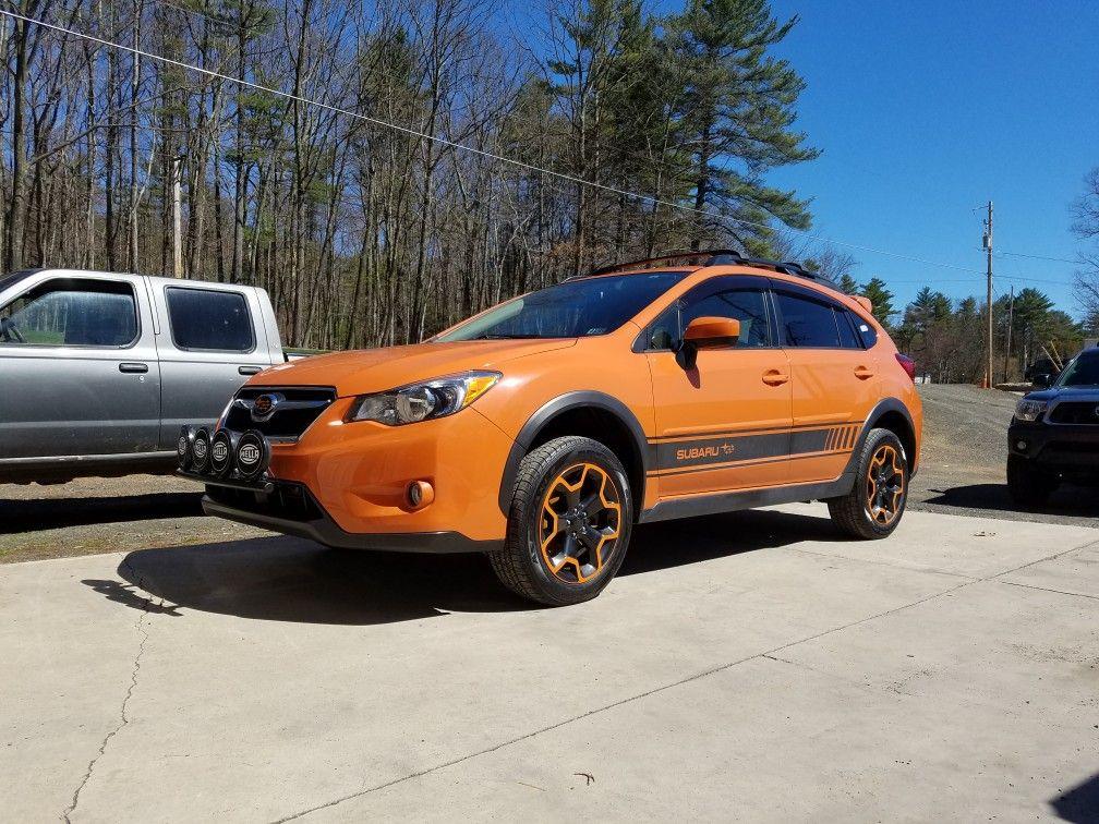Orange Rims 2015subaru Subaru Crosstrek Xvcrosstrek Orange