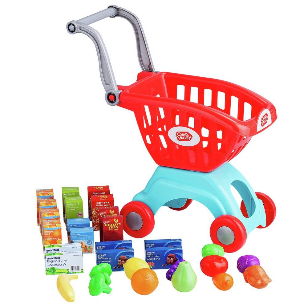 Buy chad valley shopping trolley with 30 accessories