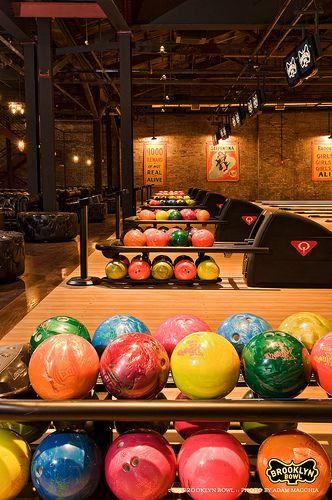 Have You Ever Seen A Bowling Alley As Cool Looking As Brooklyn Bowl Bowling Brooklyn Bowl Bowling Alley