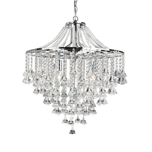Searchlight Dorchester 5 Light Crystal Chandelier Products