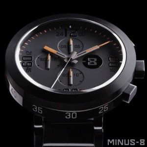 Alleen Vandaag - Minus-8 Edge Seiko Chronograph - Hoge Korting - Hoge Kwaliteit Italiaans Horloge - In Verschillende Kleuren - Deel en Lees Reviews
